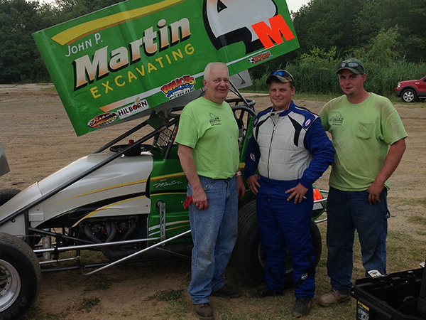 JP Martin Sprint Car David Martin